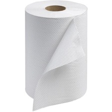 """Tork Universal Hand Towel Roll - 1 Ply - 7.9"""" x 350 ft - White - For Hand - 12 / Box"""