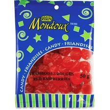 Mondoux Red Raspberries Candy - Red Raspberry - 50 g - 1 / Pack