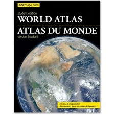 CCC World Atlas Student Edition Travel Printed Book - Book