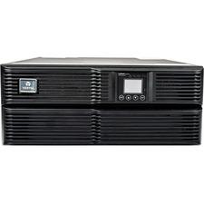 Liebert GXT4-6000RT208 UPS with 6000VA/4800W; rack slide kit; battery; & SNMP web card