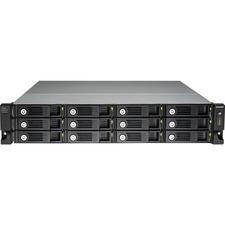 QNAP UX-1200U-RP Drive Enclosure - 2U Rack-mountable