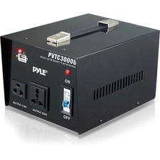 Pyle Step Up and Step Down 3000 Watt Voltage Converter Transformer - AC 110/220 V