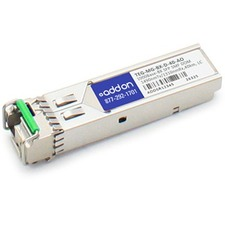 AddOn TRENDnet Compatible TAA Compliant 1000Base-BX SFP Transceiver (SMF, 1490nmTx/1310nmRx, 40km, LC, DOM)