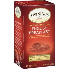 TWG 09181 Twinings English Breakfast 100% Pure Black Tea TWG09181