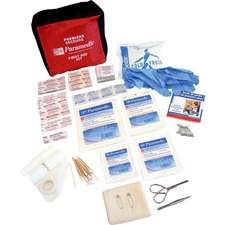 "Paramedic First Aid Kits & Supplies - 150 x Piece(s) - 27"" (685.80 mm) Height x 27.50"" (698.50 mm) Width x 4"" (101.60 mm) Depth Length - Nylon Case - 1 Each"