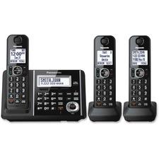 Panasonic KX-TGF343B DECT Cordless Phone - Black