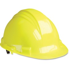 NSP A79R020000 North Safety Yellow Peak A79 HDPE Hard Hat NSPA79R020000