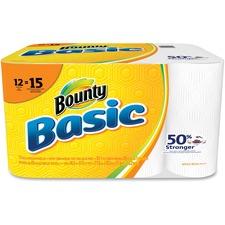 PGC 92968 Procter & Gamble Bounty Basic Paper Towels PGC92968