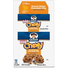 QKR 31566 Quaker Foods Peanut Butter Big Chewy Granola Bar QKR31566