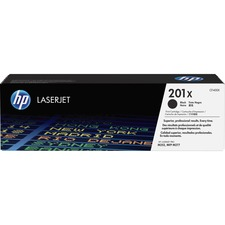 HP 201X (CF400X) Original Toner Cartridge - Single Pack - Laser - High Yield - 2800 Pages - Black - 1 Each