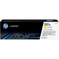 HP 201A (CF402A) Original Toner Cartridge - Single Pack - Laser - 1400 Pages - Yellow - 1 Each