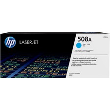 HP 508A (CF361A) Original Toner Cartridge - Single Pack - Laser - 5000 Pages - Cyan - 1 Each