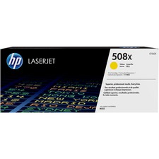 HP 508X (CF362X) Original Toner Cartridge - Single Pack - Laser - High Yield - 9500 Pages - Yellow - 1 Each