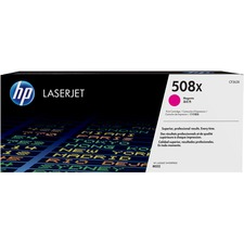HP 508X (CF363X) Toner Cartridge, Magenta High Yield - Laser - High Yield - 9500 Pages - Magenta - 1 Each