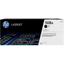 HP 508A (CF360A) Original Toner Cartridge - Single Pack - Laser - 6000 Pages - Black - 1 Each