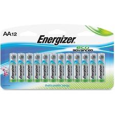 EVE XR91BP12 Energizer EcoAdvanced AA Batteries EVEXR91BP12