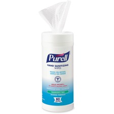 GOJ 903012 GOJO Purell Alcohol Formual Hand Sanitizing Wipes GOJ903012