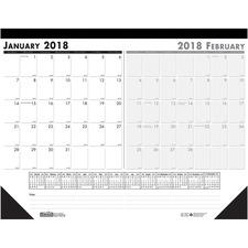 "HOD 134 Doolittle Two-month 22"" Desk Pad  HOD134"