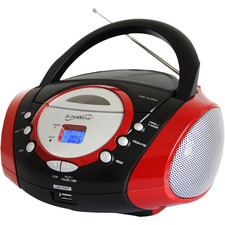 Supersonic Portable Audio System with USB Card Slot SC-508
