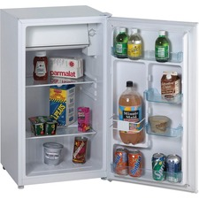 Avanti Model RM3306W - 3.3 Cu. Ft. Refrigerator with Chiller Compartment - White