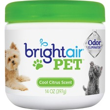 Bright Air Pet Odor Eliminator Air Freshener - Gel - 396.9 g - Cool Fresh - 60 Day - 1 Each