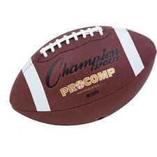 CSI CF200 Champion Sports Pro Comp Intermediate-sz Football CSICF200