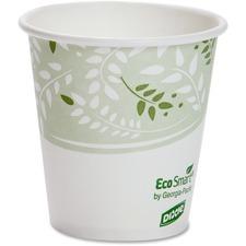 DXE 2340SPLA Dixie Foods EcoSmart Viridian Paper Hot Cups DXE2340SPLA