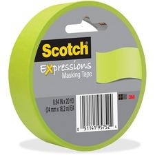 MMM 3437GRN 3M Scotch Expressions Masking Tape MMM3437GRN