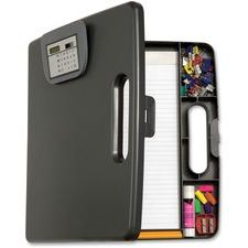 OIC 83372 Officemate Portable Cliboard Case w/Calculator OIC83372