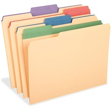 PFX 84100 Pendaflex Colored Tab Manila File Folders PFX84100