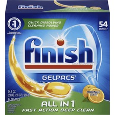 Finish All-n-1 Detergent Gelpacs