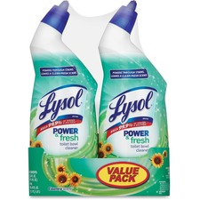 RAC 82890 Reckitt Benckiser Lysol Power/Fresh Toilet Cleaner RAC82890