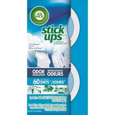 RAC 85823 Reckitt Benckiser Stick Ups Car Air Freshener RAC85823
