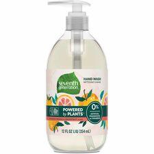 SEV 22925 Seventh Gen. Mandarin/Grapefrt Natural Hand Wash  SEV22925