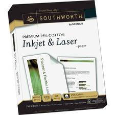SOU J344C Southworth Premium Cotton Inkjet/Laser Paper SOUJ344C