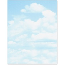 GEO 46887S Geographics Clouds Design 24 lb. Printable Paper GEO46887S
