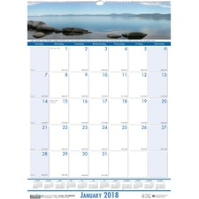 House of Doolittle EarthScapes Coastlines Wall Calendar