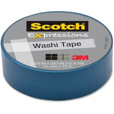 MMM C314BLU 3M Scotch Expressions Washi Tape MMMC314BLU