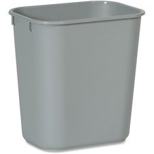 RCP 2955GY Rubbermaid Comm. Deskside Wastebasket RCP2955GY