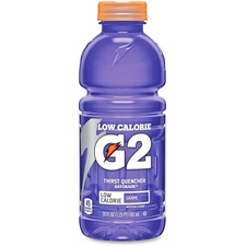 QKR 20406 Quaker Foods Gatorade G2 Bottled Sports Drink QKR20406