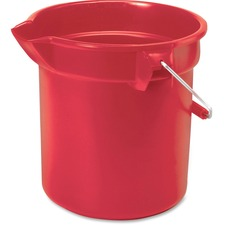 RCP 261400RD Rubbermaid Comm. Brute 14-quart Round Bucket RCP261400RD