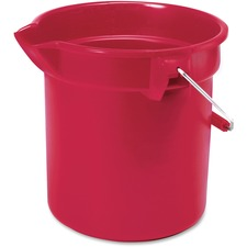 RCP 296300RD Rubbermaid Comm. Brute 10-qt Utility Bucket RCP296300RD