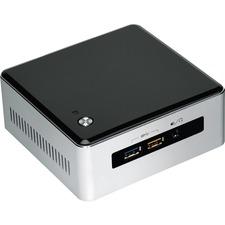 Intel NUC5CPYH Desktop Computer - Intel Celeron N3050 1.60 GHz DDR3L SDRAM - Mini PC - Silver, Black