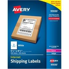 AVE95930 - Avery&reg Bulk Shipping Labels