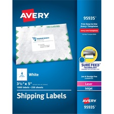 AVE95935 - Avery&reg Bulk Shipping Labels