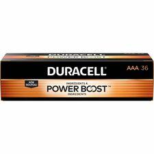 DUR MN24P36 Duracell CopperTop Alkaline AAA Batteries DURMN24P36
