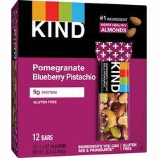 KND17221 - KIND Pomegranate Blueberry Pistachio Plus Bars