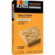 KND18080 - KIND Oats/Honey Toasted Coconut Grains Bar
