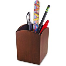 AOPART11005C - Artistic Bamboo Curved Pencil Cup