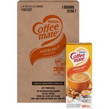 NES 35180CT Nestle Coffee-mate Hazelnut Creamer Singles NES35180CT
